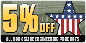 5% Off All Rock Slide Engineering Products