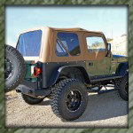 Jeep TJ Rear Bumper