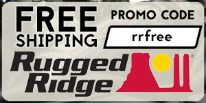 Free Shipping on Rugged Ridge Over $100 with Promo Code